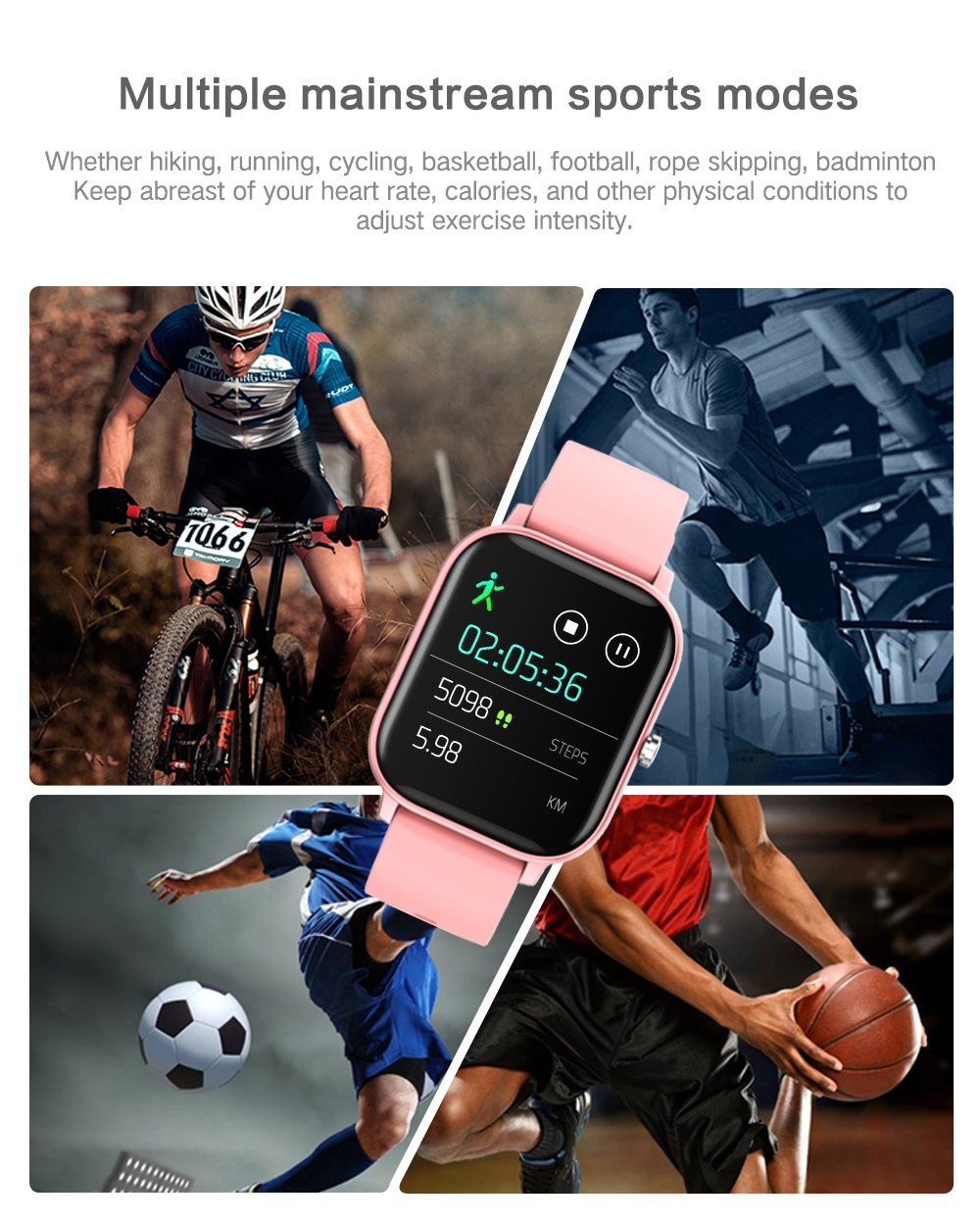 COLMI P8 1.4 inch Smart Watch for Xiaomi