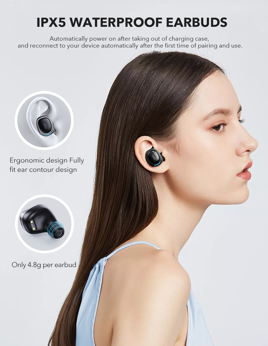 mifa X8 TWS Wireless Bluetooth Touch Control Stereo earphones With Charging Box